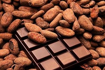 شوكولا بسكر أقل