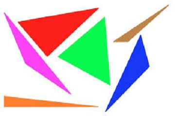 المثلثات من التاريخ