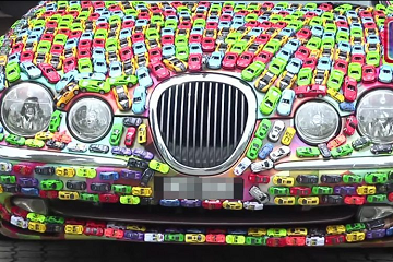 آلاف السيارات فوق سيارة!!!