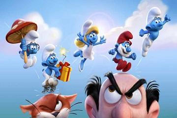 الأصدقاء الزرق من جديد !