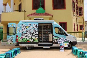 مكتبة الأطفال المتنقلة