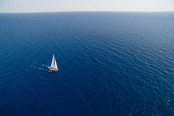 حقيقي في البحر!