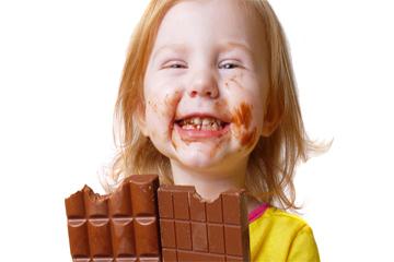 الشوكولا تحت المجهر