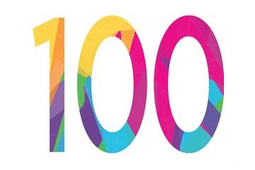 100 في حقيبة !