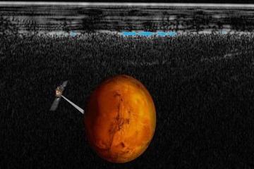 مياه على المريخ!!