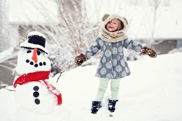حقيقي مع رجل الثلج