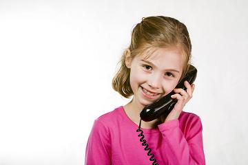 بلباقة على الهاتف