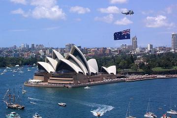 وصلت لأستراليا