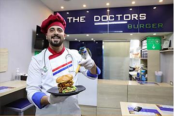 المطعم-العيادة
