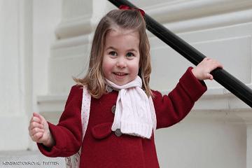 الأميرة إلى المدرسة !